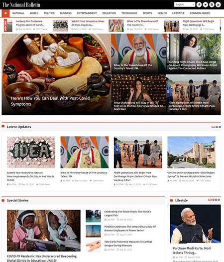 ITiansWeb-The National Bulletin